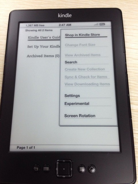 US $72 0 |Black color kindle 4 with USB cable and charger Used amazon  kindle 4 e reader D01100(please check the description carefully)-in eBook  Reader
