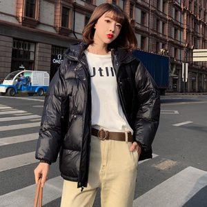 Image 5 - Pinkyisblack 2020 Mode Plus Size 2XL Down Jassen Vrouwen Winter Jas Korte Thicken Warm Katoen Gevoerde Winter Jas Vrouwen Jas