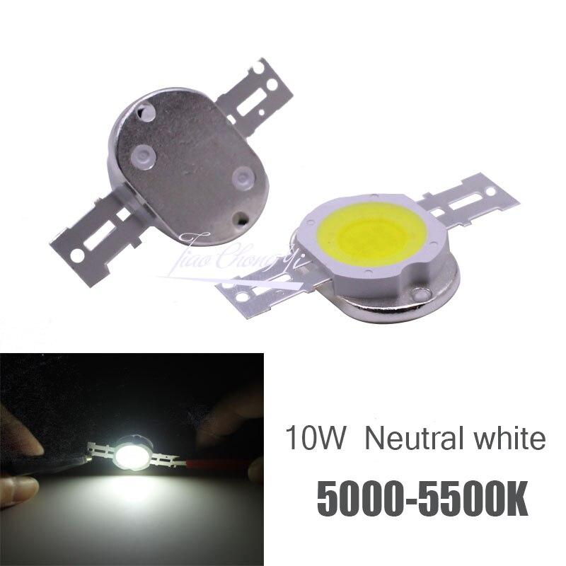 100 pcs Ad Alta Potenza Circuito Integrato del LED 10 W Neutral White 5000 k Perline di Illuminazione 9 12 v 1050mA Integrato matrix Lampadina COB Lampada Per Proiettore - 2