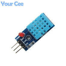 5 pcs DHT11 Digital Temperature and Humidity Sensor Module DC 3.3V-5V For Arduino