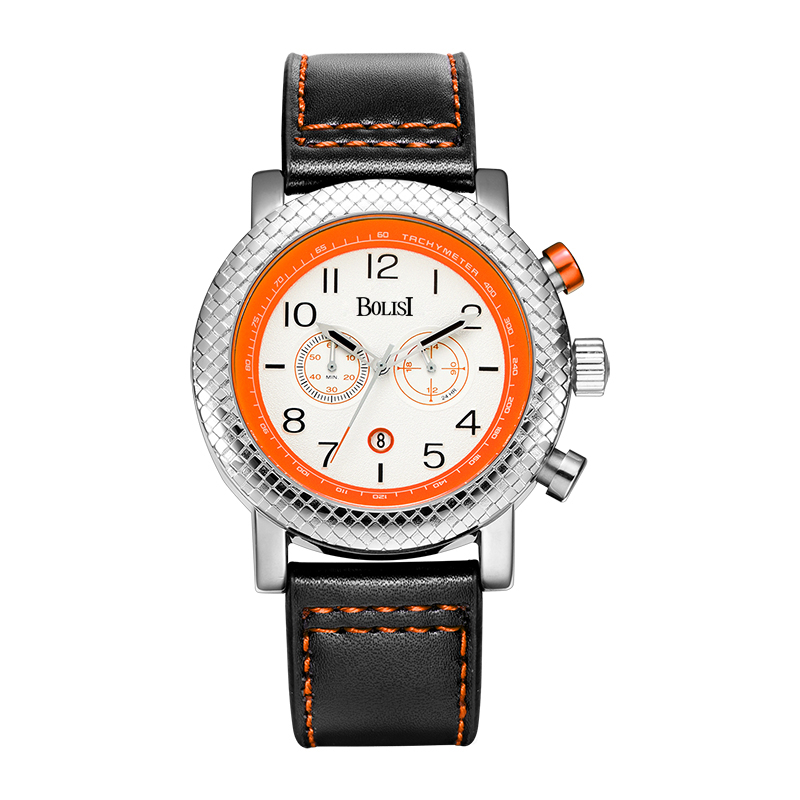 BOLISI  Men's Business Quartz Wrist Watch Leather Wristwatches with Water Resistant &  Complete Calendar & Chronograph frank buytendijk dealing with dilemmas where business analytics fall short