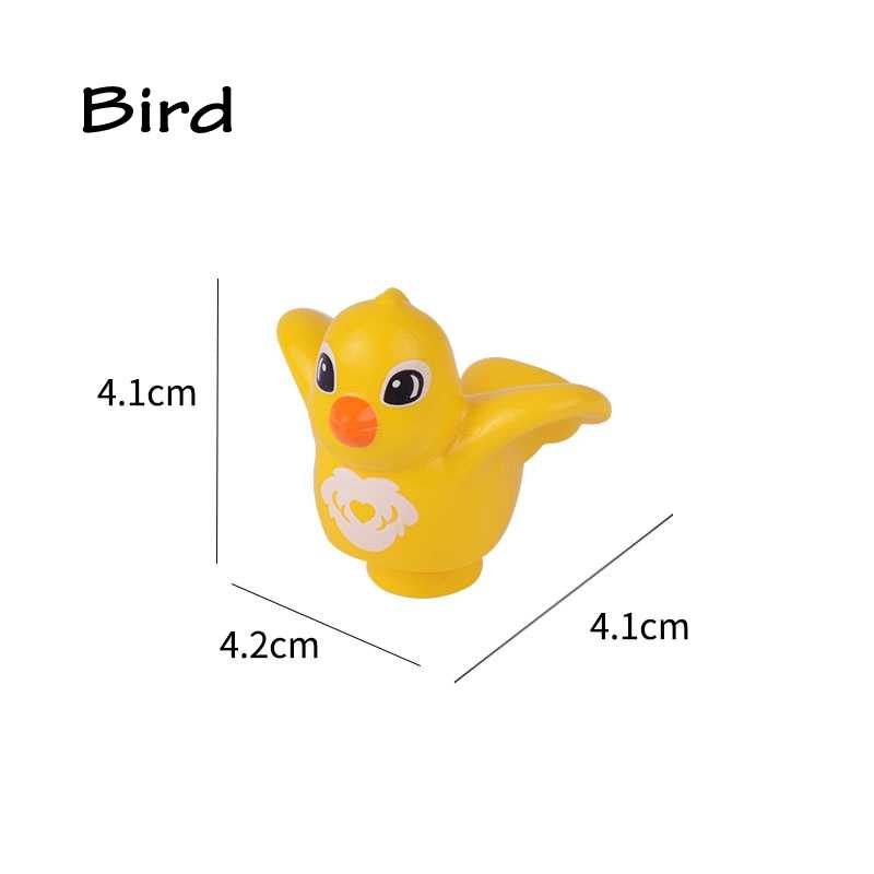 Duplo Compatível para Duplo Amigos Building Blocks Brinquedos para Crianças Animais de Dinossauro Jurassic Park Tiranossauro rex