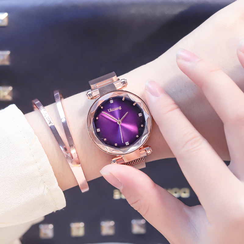 2019 Magnet Magnetic Force Unique Creative Band Women Luxury Quartz Watches Ladies Dress Wristwatches Watch NO Box&Bracelet 6