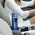 top quality 12V 24V car heater cup best gift LED 350mL ABS  Stainless Steel Car Electric heating Cup Hot Water Coffee Tea