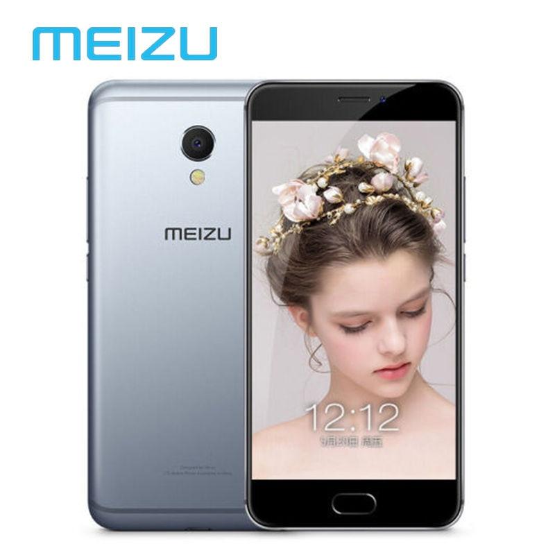 """Цена за Оригинальный Meizu MX6 4 ГБ 32 ГБ Мобильный Телефон Android Глобальный Прошивка OTA Сотовой Дека Core 1920x1080 P 5.5 """"12MP Отпечатков Пальцев  M685Q"""