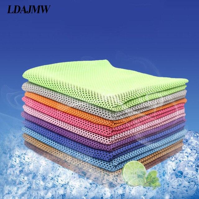 LDAJMW Sport Asciugamano Raffreddamento Accogliente Ice Cold Duraturo Correre Jo
