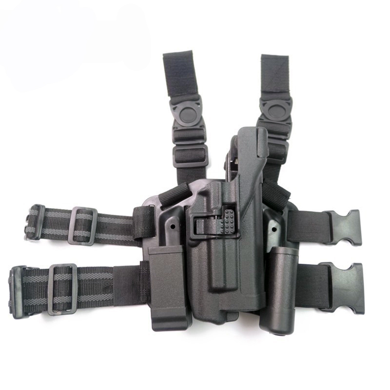 Tactical Military Right Leg Paddle Belt Thigh Holster For