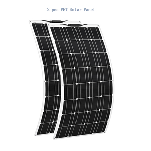 Image 3 - Portable Flexible Solar Panel 16V 100W 18v plate monocrystalline efficiency PV 12V 100 watt china photovoltaique Rv yacht