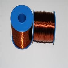 100 เมตร/ล็อตลวด 20 AWG 0.80 มิลลิเมตรลวดเคลือบทองแดง Class 180C ม้วนแม่เหล็กลวด