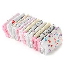 10 шт., хлопковые детские трусы, штаны для маленьких девочек, милое нижнее белье для девочек, смешанные цвета, A-2578