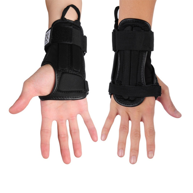 1Pair Lycra Sports Hand Protector Wrist Support EVA Protective Motorcycle Skiing Armguard Palm Padded Hand Guards wrist protect