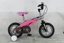Cheap price 12inch LAN Q Kids bicycles Magnesium alloy telescopic children's bicycles disc brakes bicycle 12inch bike