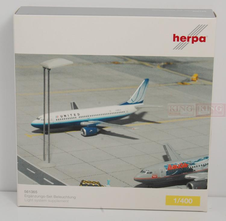 Herpa 561365 airport lights 1:400 commercial jetliners plane model hobby a13036 apollo indonesia aviation pk gsh 1 400 commercial jetliners plane model hobby b747 400