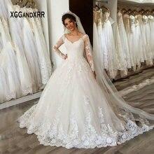 XGGandXRR Ball Gown Wedding Dress 2019 Bride Dress