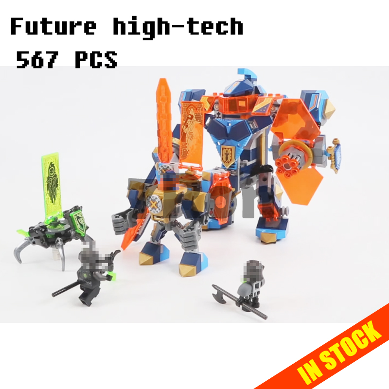 Models building toy 14043 Future high tech magic Ares Building Blocks Compatible with lego Nexus Knights 72004 toys & hobbies