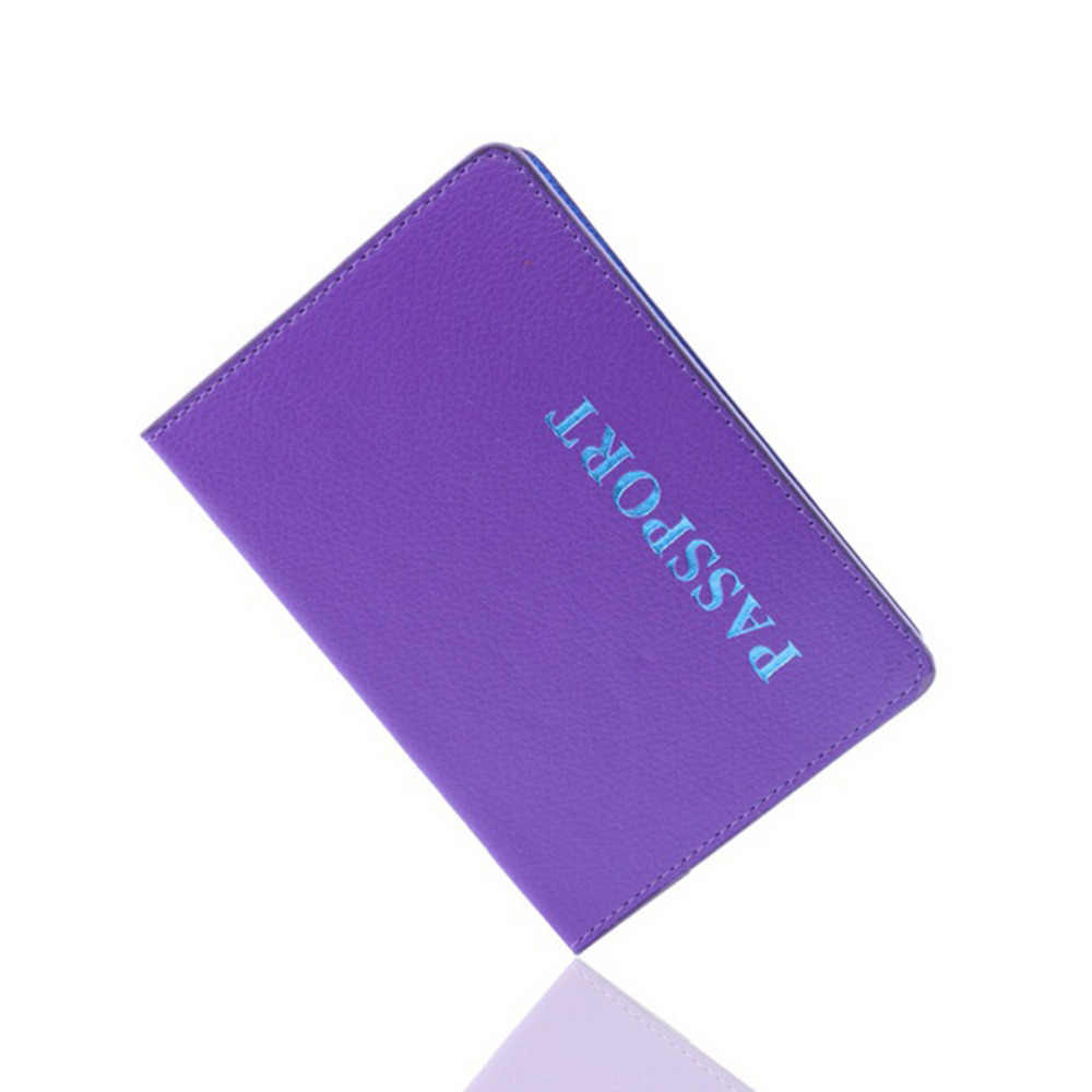 Travel Passport Holder Card Cover on the Case for Women's Men Adventure porta passaporte pasport paspoort 1PCS hot