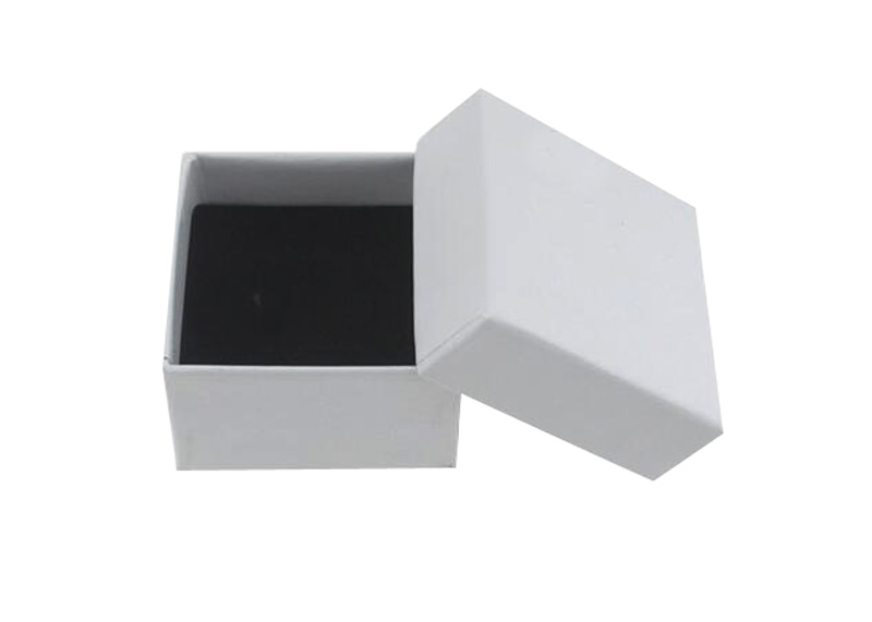 5 5 3cm Free Shipping wholesale 100pcs lot White Ring Earring Packaging Gift Boxes Box For