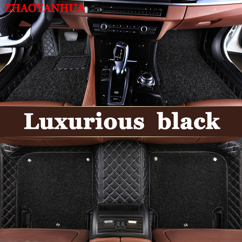 ZHAOYANHUA Custom fit car floor mats for <font><b>Lexus</b></font> <font><b>NX</b></font> 200 200T <font><b>300h</b></font> NT200 NX200T NX300H <font><b>F</b></font> <font><b>Sport</b></font> RX waterproof leather carpet rugs image