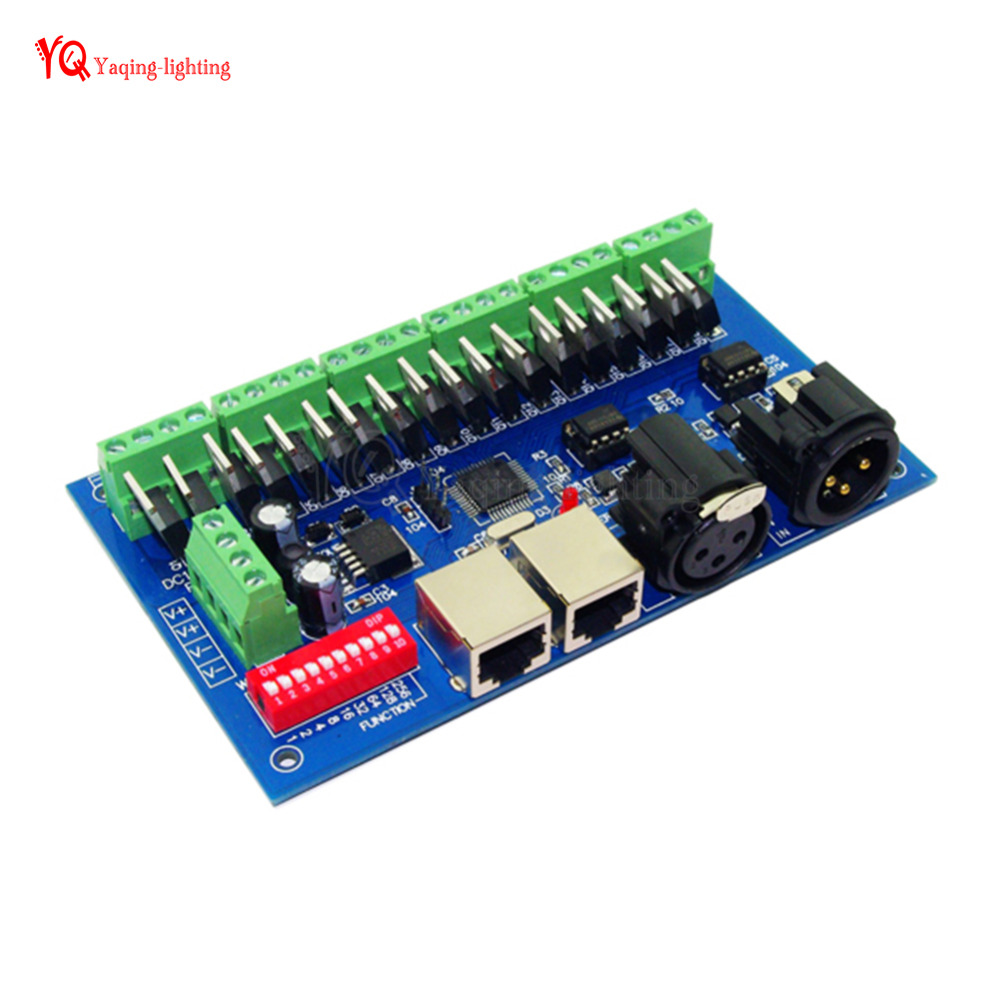 18 CH have(XLR&RJ45),3A/Ch,18 channel dmx 512decoder, Controller,Dimmer,Drive For LED Strip Module,DC 12-24V 16pcs chinese herbal medicine joint pain tiger balm arthritis rheumatism myalgia treatment massage plasters c201