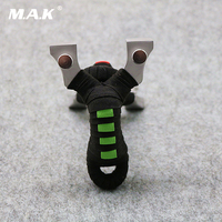 2 Color 304 Stainless Steel Flat Rubber Band Slingshot with 304 Stainless Steel for Outdoor Hunting Shooting