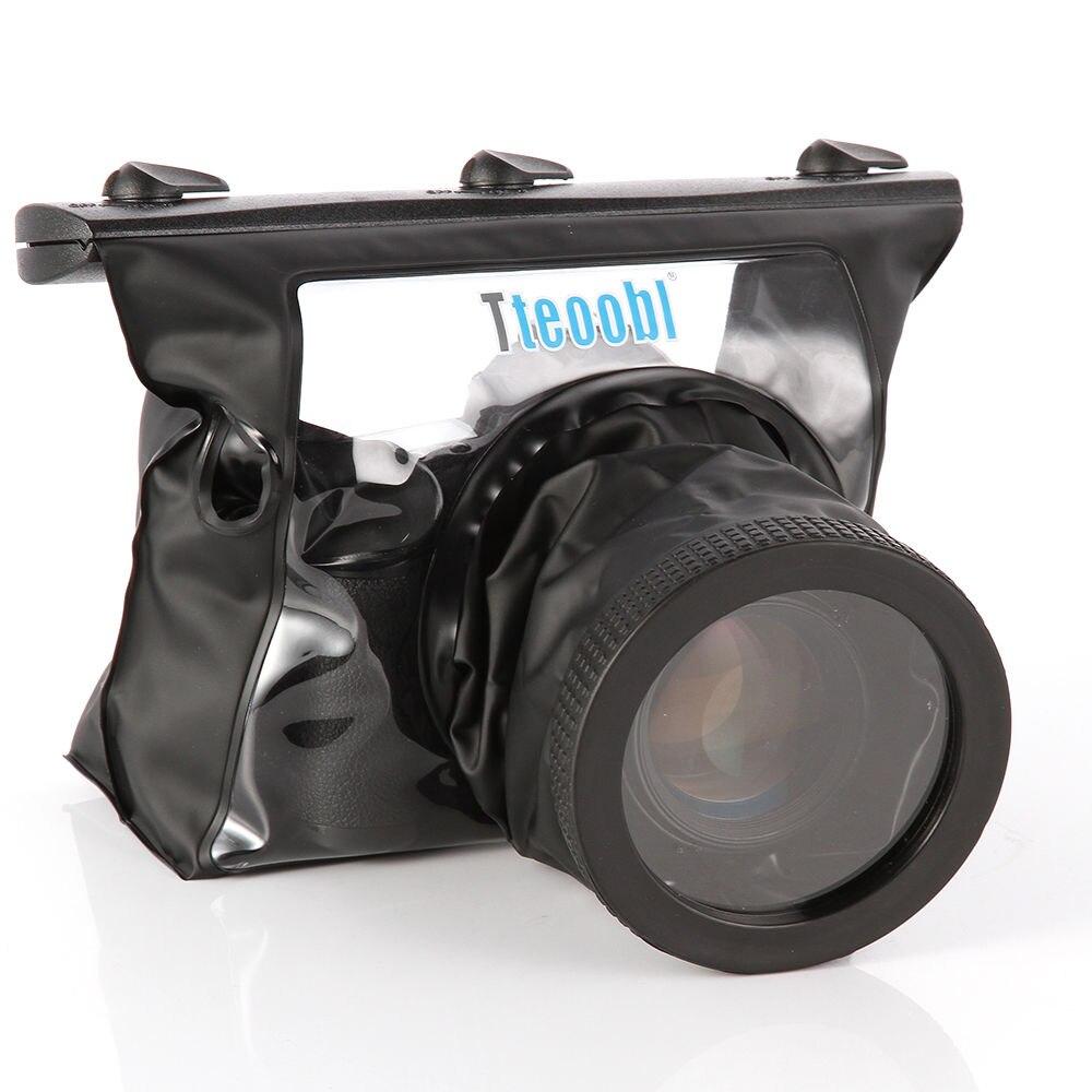 Sous-marine sac Étanche Camera Case Plongée pour Canon 700D 600D 60D 5D2 7D D7000