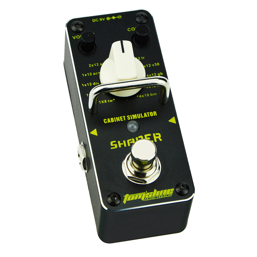 Tomsline ASR-3 SHAPER Classic cabinet simulator Guitar Analogue Effect True Bypass AROMA new aroma ahor 3 holy war metal distortion mini analogue effect true bypass