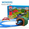 Big size Hot Wheels Thomas And Friends Trains Set Toys Kids Toys For Boys Electric  Rail  Thomas Train Set Trackmaster