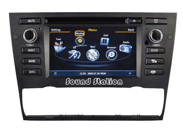 for bmw e90 e91 e92 e93 318i 320i 325i 320se 320d 325m 320 car dvd radio gps navigation. Black Bedroom Furniture Sets. Home Design Ideas