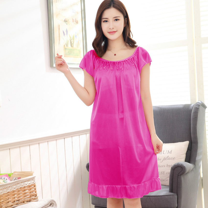 Hot New Women Sexy Nightwear 7 Colors Plus Size Xxl4Xl -4177