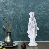 Giftgarden 11 Madonna And Child Figurine Virgin Mary Holding Baby Jesus Statue Christmas Decorations For Home