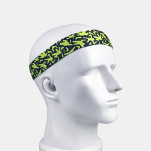 Sweatband Sport Non Slip Hair Sweat Headband Tennis Basketball Yoga Breathable Bands Camouflage Fitness Workout Men Women(China)