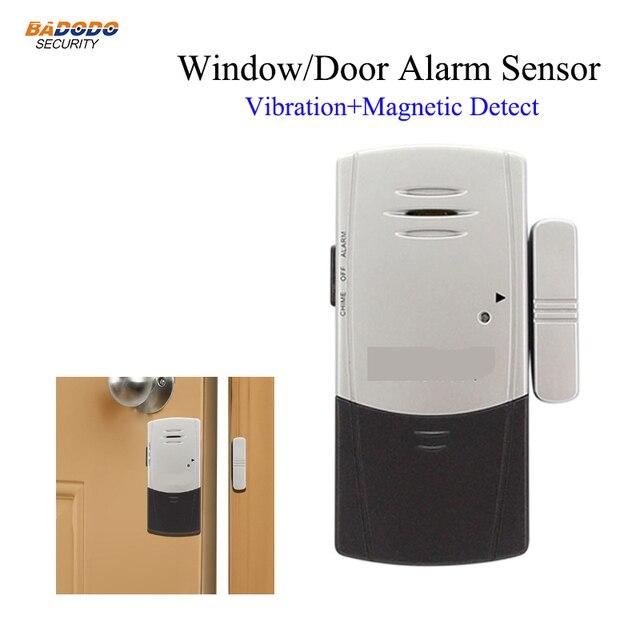 Doberman Security Alarms House Ultra Slim Door Window Vibration Detection Alarm Burglars Alert Sensor Defender SE