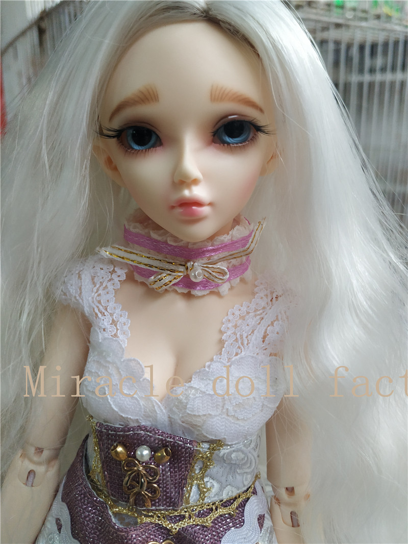 BJD doll Chloes 1/4 Ball-jointed Dool l High Quality Resin Doll Birthday Gift Free Eyes