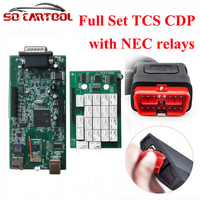 DHL Free 2Pcs Lot 2014 3 2015 1 New VCI TCS Scanner TCS CDP Pro Plus