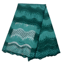 Newest Design Beaded African Tulle lace fabric Hot Sale french Good Quality Nigerian for Wedding dressHX1325-1