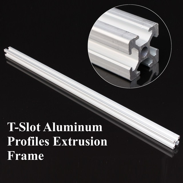 New Arrival 500mm Length 2020 T Slot Aluminum Profiles Extrusion Frame For CNC-in 3D Printer Parts & Accessories from Computer & Office on ...