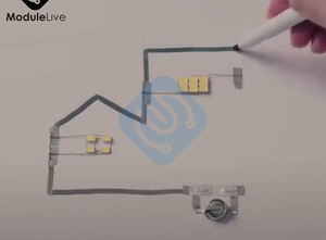 Image 4 - 6ml מוליך דיו עט זהב אלקטרוני מעגל לצייר באופן מיידי קסום עט מעגל DIY יצרנית תלמיד ילדי חינוך קסם מתנות