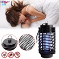 Insect Killer Mosquito Pest Fly Bug Zapper Catcher Trap Light Lamp EU Plug APR13_35