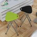 Household portátil cadeira dobrável ao ar livre fezes de pesca de plástico resistente