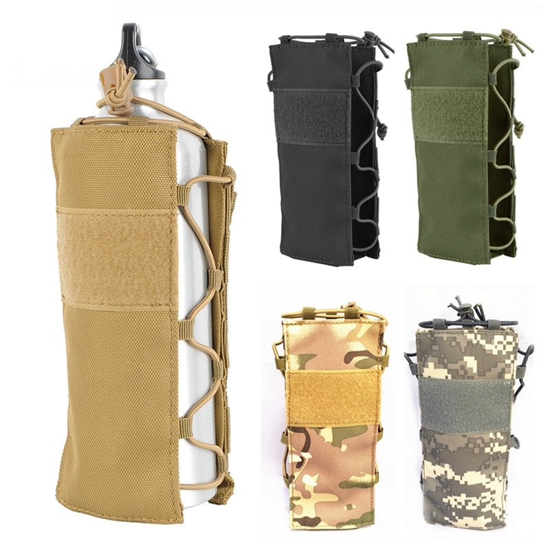 Water Bottle Holster: CQC Tactical Water Bottle Holster Kettle Pouch Outdoor