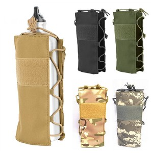 CQC Tactical Water Bottle Holster Kettle Pouch Outdoor Sports Water Bottle Holder Canteen Hiking Climbing Travel Hunting Bag