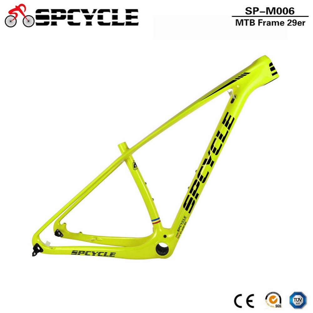 SmileTeam T1000 Full Carbon Mountain Bikes Frame 29er Carbon MTB Bicycle Frame 142*12mm Thru Axle Carbon Fibre Bike Frame 2017 new cheap carbon frame t800 3k full carbon mtb frame 29er for thru axle carbon mountain bikes frame 29 free shipping