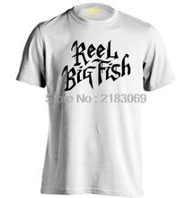 REEL BIG FISH Band logo Mens & Womens Summer Short Sleeves Cotton Fashion T shirt