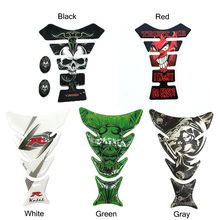 19cm Cool 3D Motorcycle Decal Gas Oil Fuel Tank Pad Protector Skull Racing Car Sticker 3D Motorcycle Decal durable and touchable