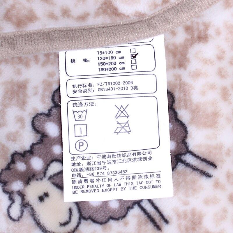 Nuevo Bebé caliente manta niños de dibujos animados cobertor bebe ...
