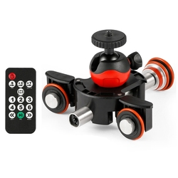 L8X Camera Video Track Motorized Electric Slider Motor Truck For Nikon Canon Dslr Camera Dv Movie Vlogging Gear