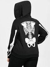 Des Shirt Promotion Achetez Sweat Squelette Un Avec tshrxCQd