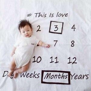 INS Hot Baby Milestone Blanket