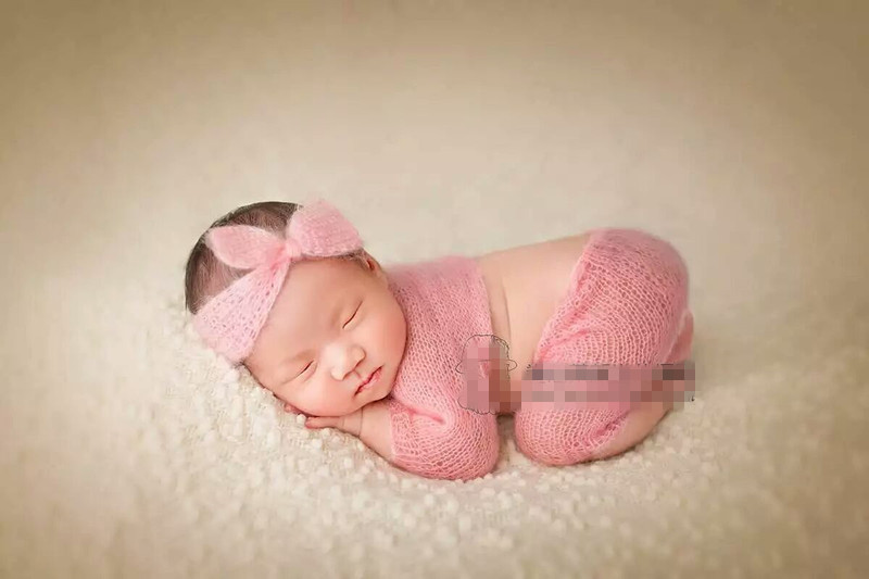 Knitting For Newborn Photography : Aliexpress buy baby jammies hand knit mohair