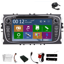SD MAP AMP MP3 GPS navi Car DVD Player CanBus RDS Player Stereo Autoradio Audio iPod For Ford Mondeo Logo win8 Radio EQ In Deck